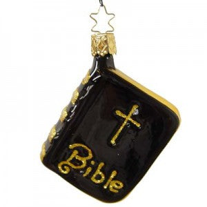 bible christmas ornament inge-glas of germany