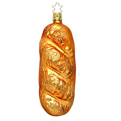 loaf of french bread inge-glas of germany