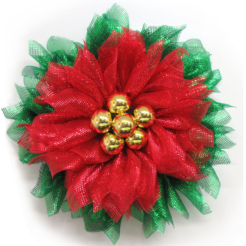 poinsettia tutorial, red flower wreath, poinsettia wreath