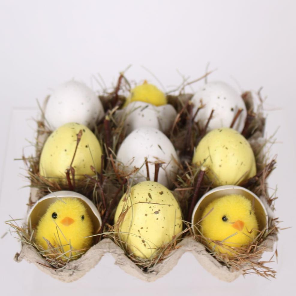 easter chick, chick eggs,