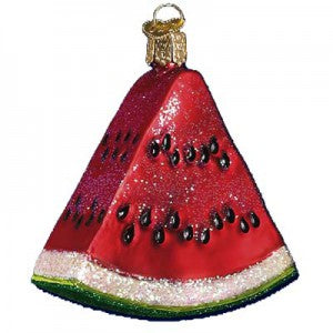 watermelon wedge christmas ornament old world christmas