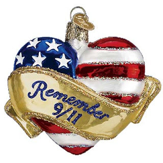 old world christmas remembrance heart christmas ornament