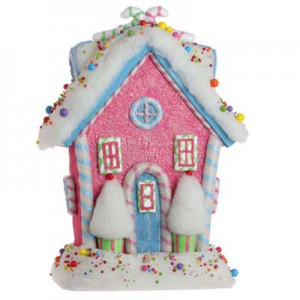 raz pink candy house gumdrops and jellybeans collection