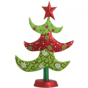 RAZ Tin Christmas tree