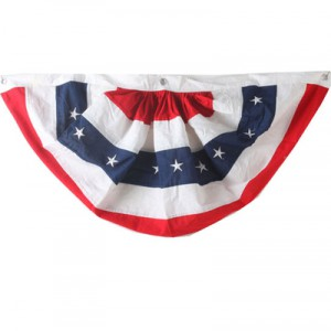 red white blue patiotic bunting for your july 4th party from raz
