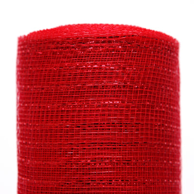 "red metallic mesh netting 21"" wide by 10 yds at Trendy Tree"