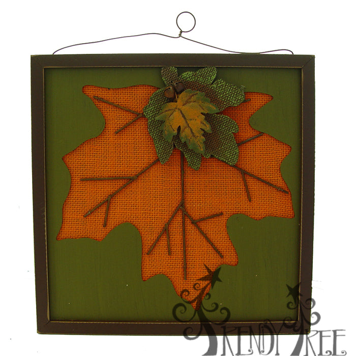 J6423-autumn-wall-plaque-orange-leaf