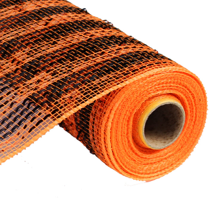 RE1363KA_wide-foil-stripe-black-orange-10-inch