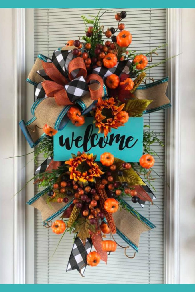 learn how to make wreaths, learn how to make door swags