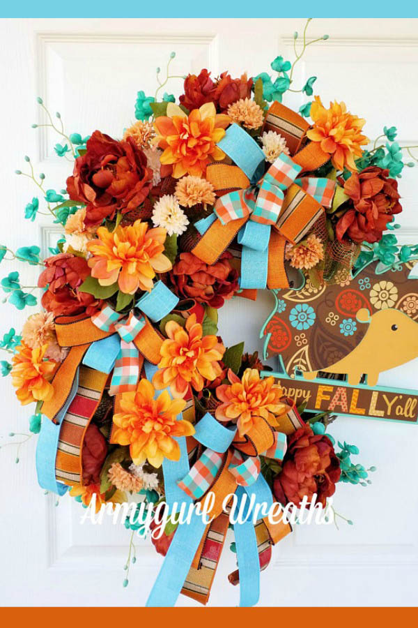 mothers day wreath, spring wreath, happy mothers' day
