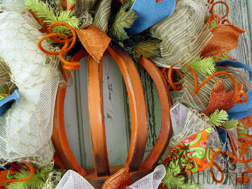 autumn-pumpkin-wreath-tutorial-pumpkin-closeup-2