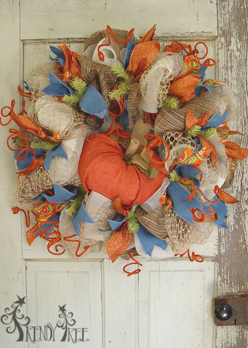 autumn-pumpkin-wreath-tutorial-raz-pumpkin-orange
