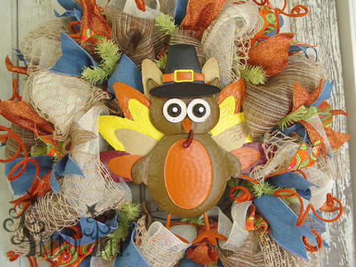 autumn-pumpkin-wreath-tutorial-turkey-pilgrim