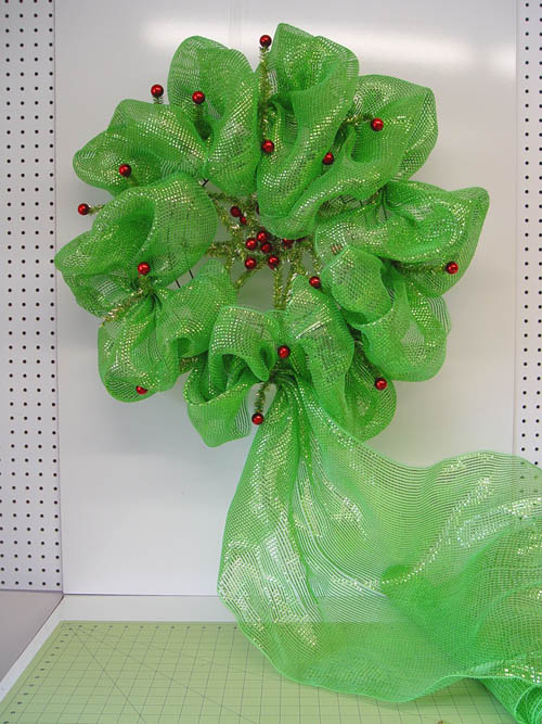 basic-green-wreath-outer-ring-complete-mesh