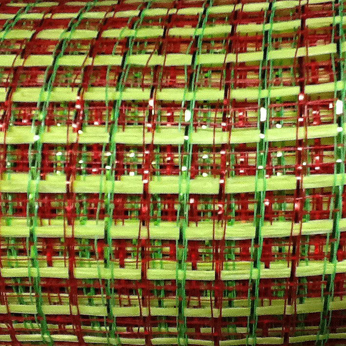 basket-weave-red-green-emerald