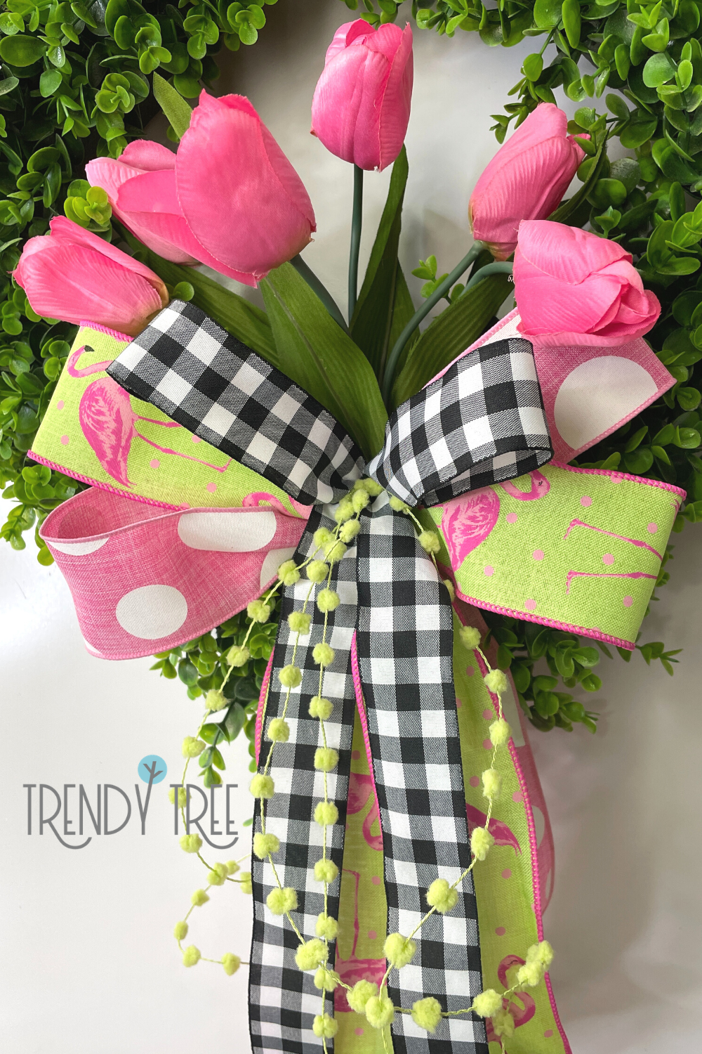 bow made with ez bowmaker at trendy tree