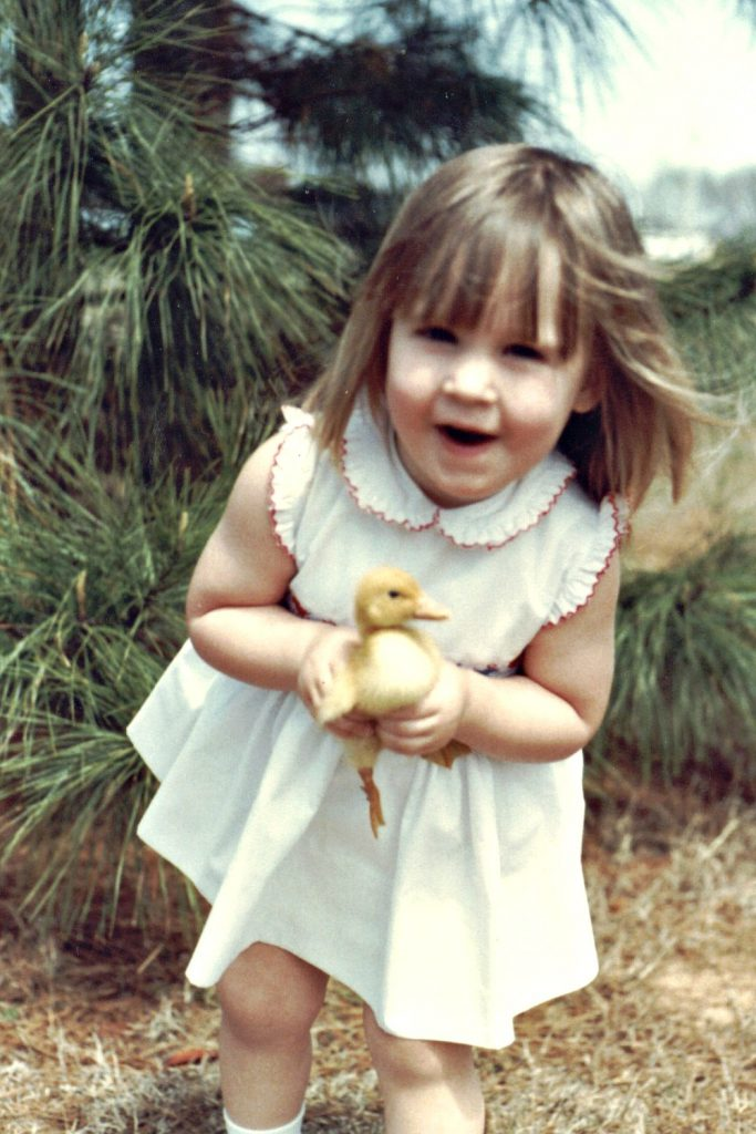 Carrie Martin, best dressed duck,