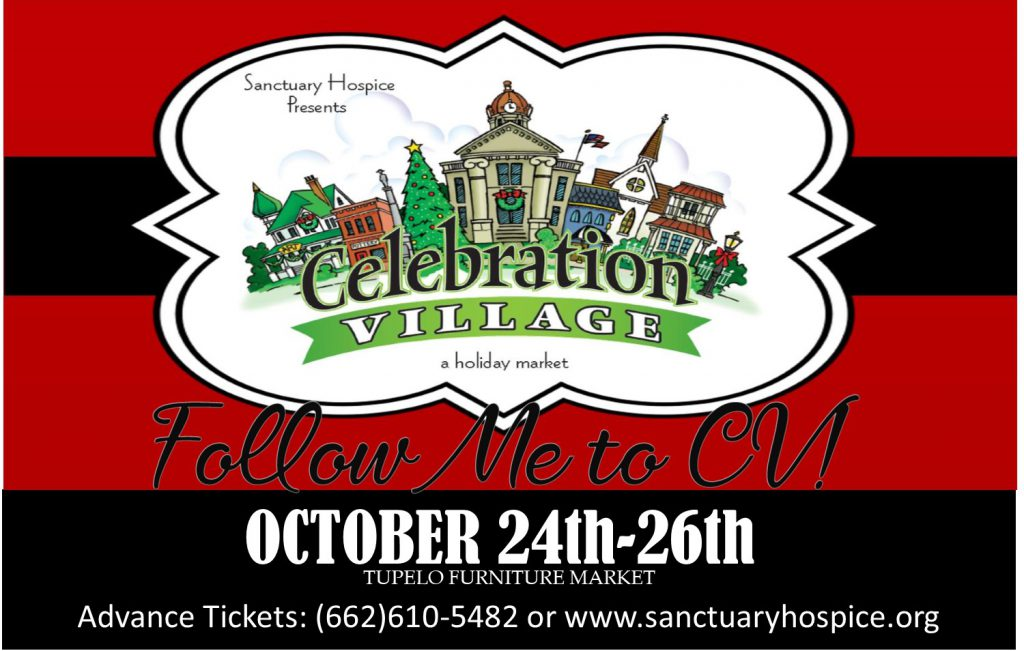 celebration village, tupelo furniture market