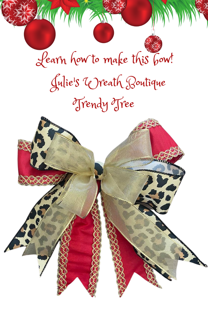 learn how to make easy bows