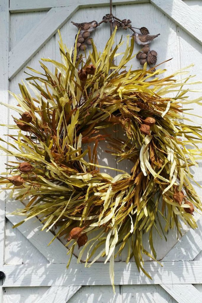Fall wreaths for front door, Fall wreath, Fall Burlap and Pumpkin wreath, Harvest wreath, Autumn wreath, Thanksgiving wreath, Fall décor
