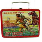 davy crockett lunch box king of the wild frontier