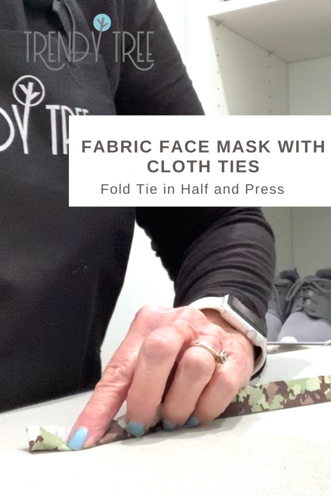 press ties for face mask