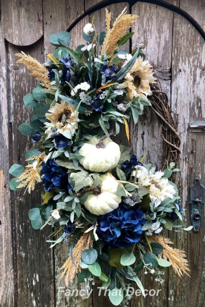 Halloween gnome wreath, halloween witch gnome, wreath attachment, halloween grapevine, trick or treat wreath, faux candy apple, gnome witch