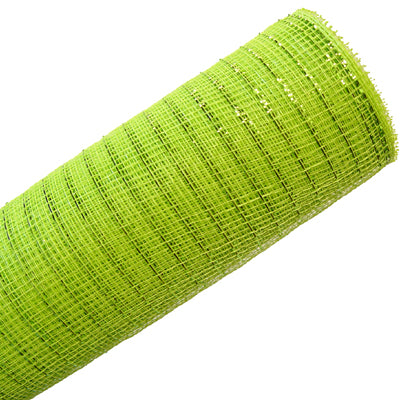 apple green deco poly mesh netting