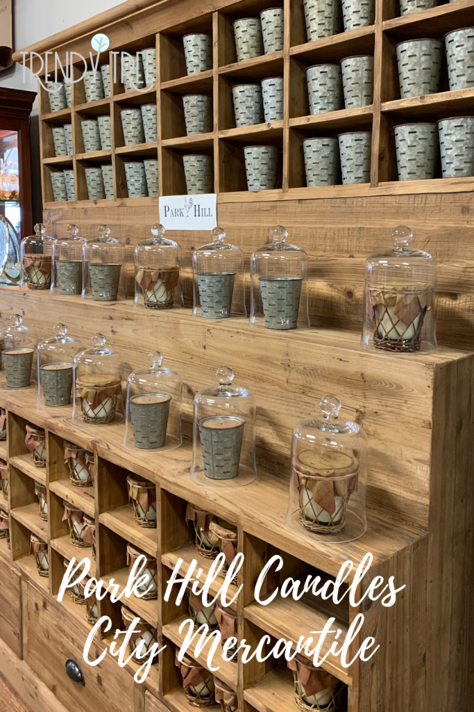 park hill candles, city mercantile