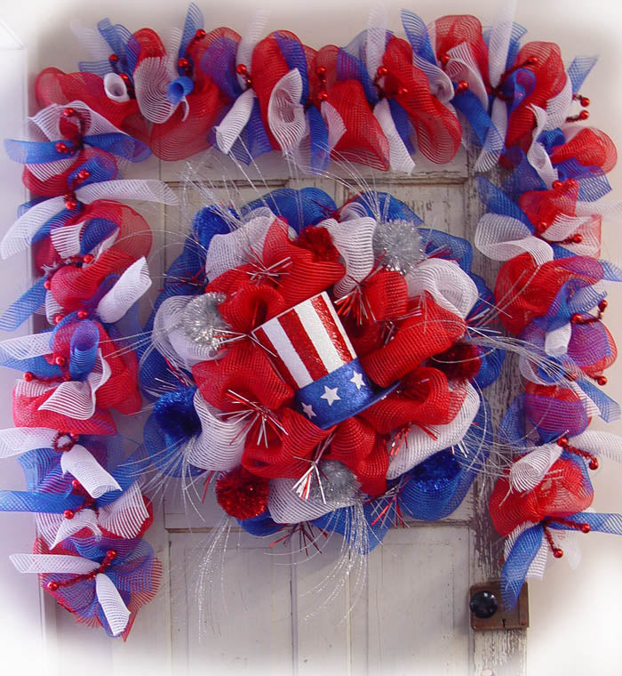 patriotic-wreath-garland