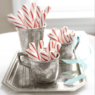 peppermint candy stick