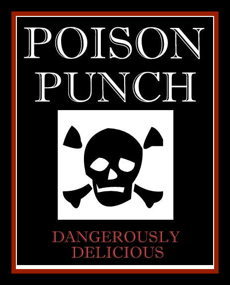 poison punch label