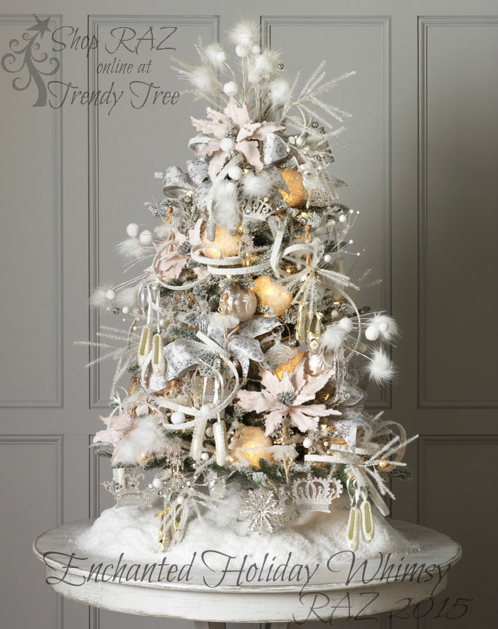 RAZ 2015 Enchanted Holiday Whimsy Christmas Tree visit http://www.trendytree.com for RAZ Christmas decorations