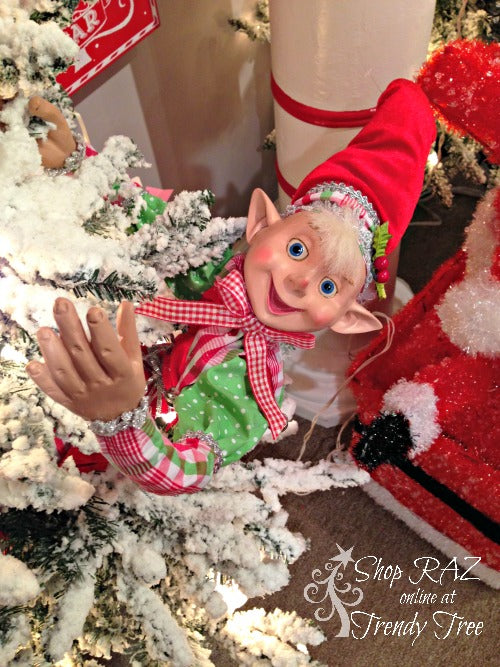 raz-peppermint-toy-collection-elf-trendy-tree