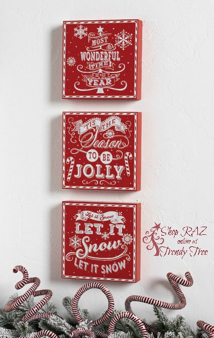 raz-peppermint-toy-red-message-wall-hangings-trendytree