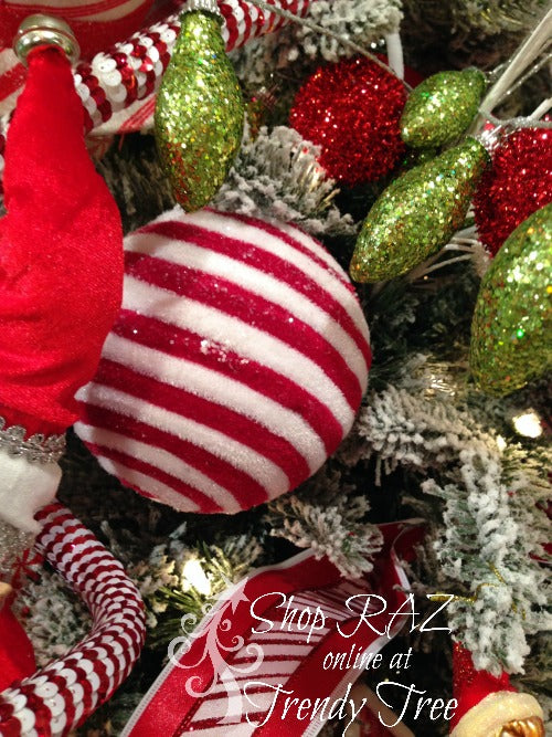 raz-peppermint-toy-trendy-tree-striped-ball