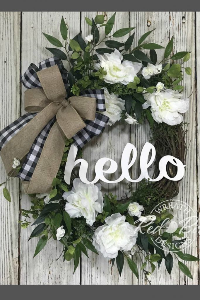 August Door Wreaths Centerpieces 2019 Trendy Tree