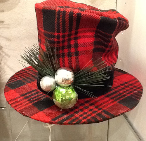 red-plaid-top-hat