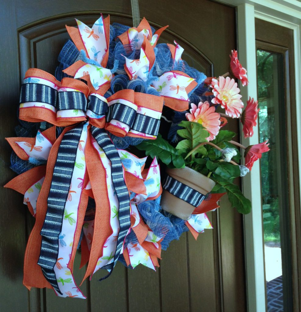 salmon-gerbera-daisy-door-2