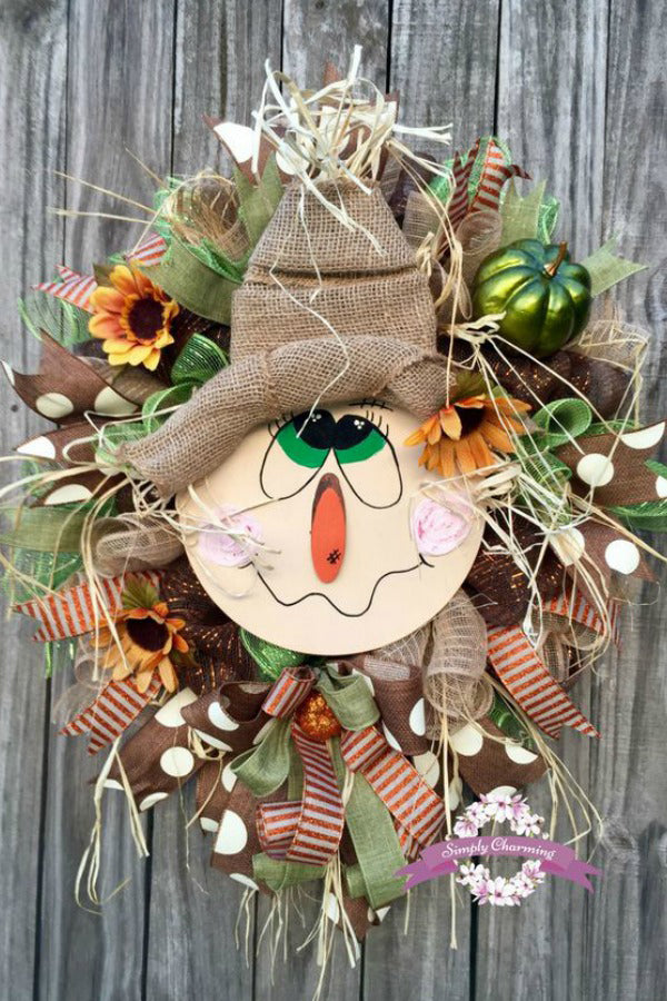 Bunny Easter Basket Door Decor, Easter Decor, Easter Basket Floral Door Hanger, Easter Wreath, Easter Door Hanger, Easter Floral