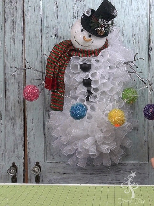 snowman-wreath-head-frosted-snowball-trendytree