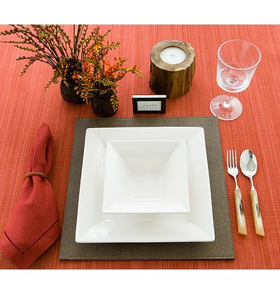 soup table setting