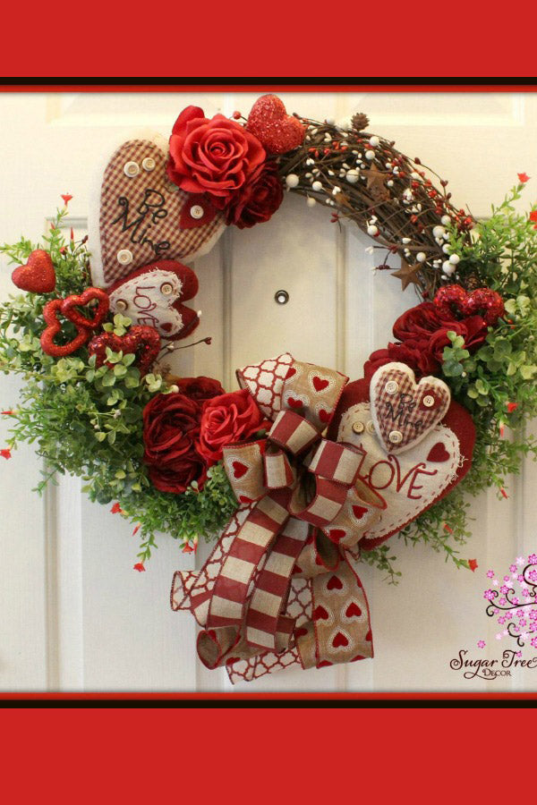 Dog Wreath, Front Door Wreath, Dog Decoration, Dog Decor