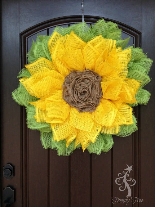 sunflower-burlap-ribbon-center-front-door-blog-post