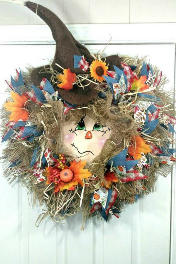 Mad Hatter Easter wreath, front door Spring wreath, Big full floral wreath