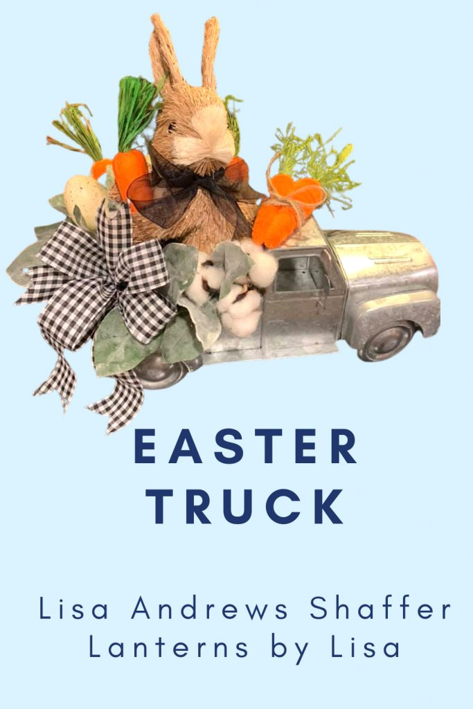 easter bunny, carrots, easter truck