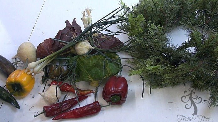 vegetable-wreath-remove-pieces