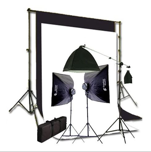 video studio lighting, cowboy studio