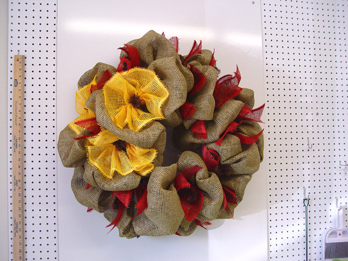 western-wreath-red-paper-finished