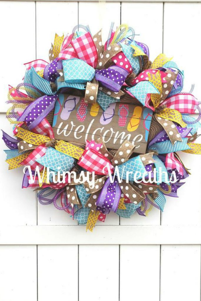 thankful wreath, thanksgiving wreath, blessed wreath,